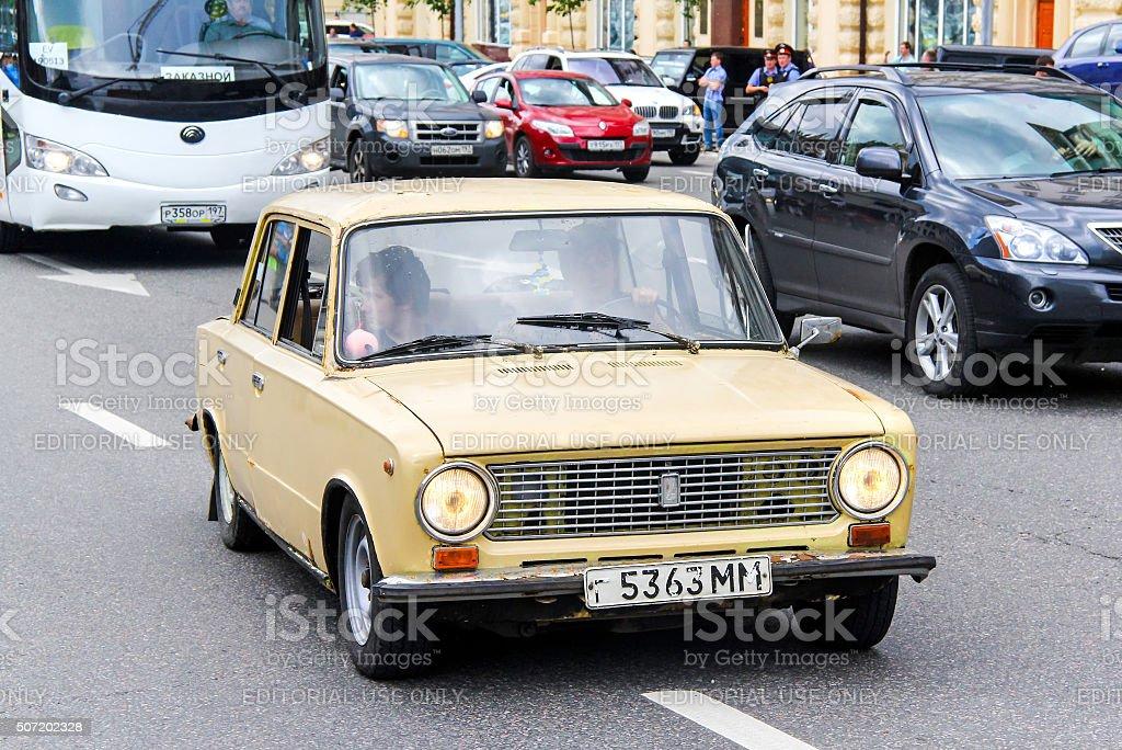VAZ 2101 Zhiguli stock photo