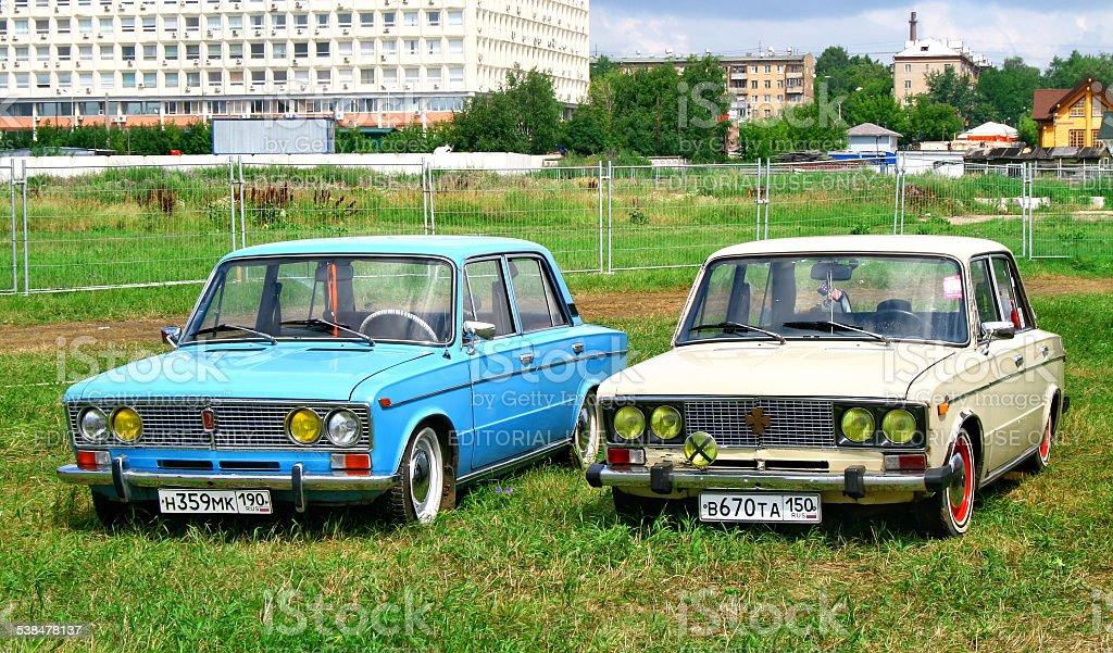 Zhiguli stock photo