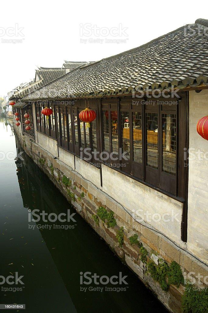 Zhouzhuang, China royalty-free stock photo