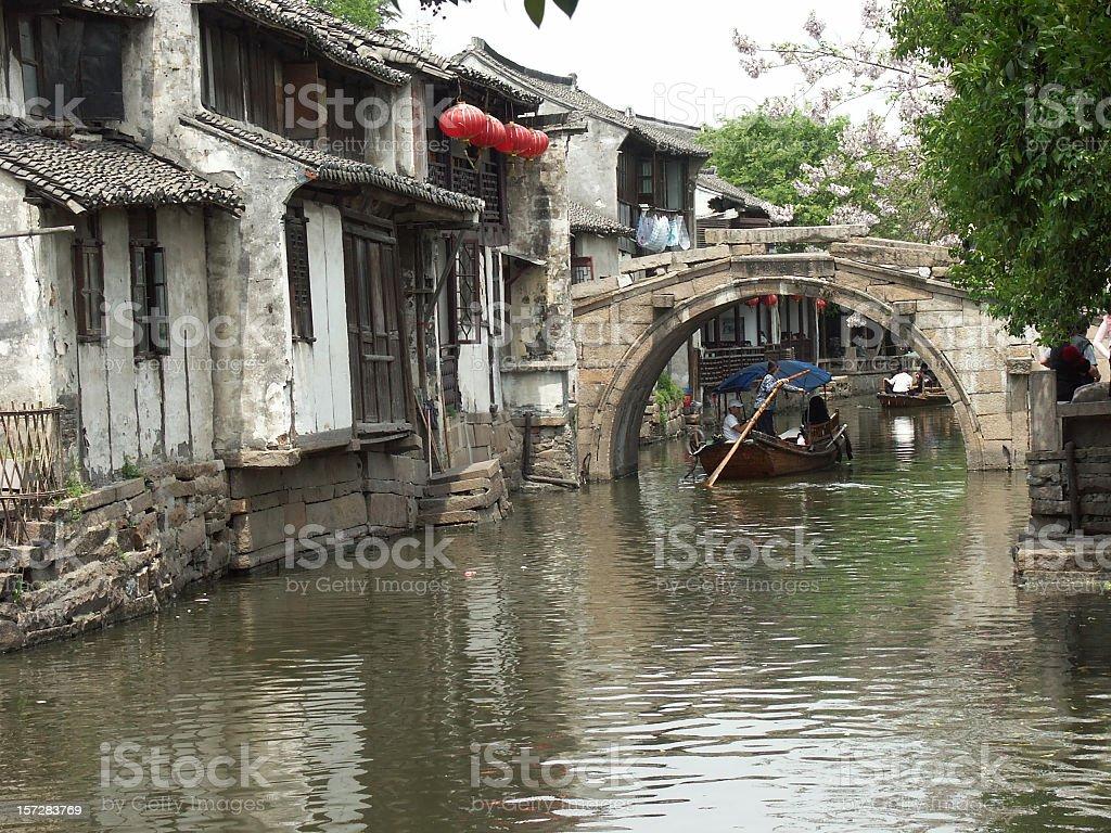 Zhouzhuang royalty-free stock photo