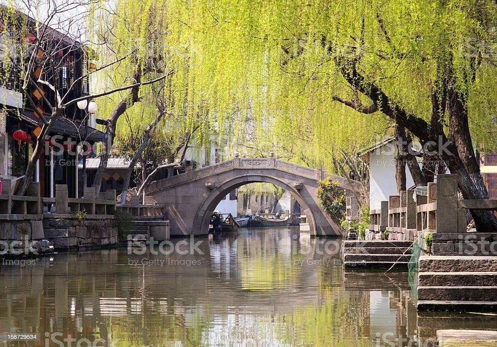 Zhouzhuang stock photo