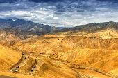 Zigzag road, Leh Srinagar Highway, Ladakh, Jammu and Kashmir, India