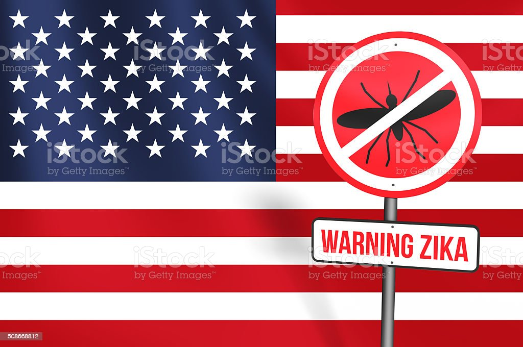 Zika Virus in USA stock photo