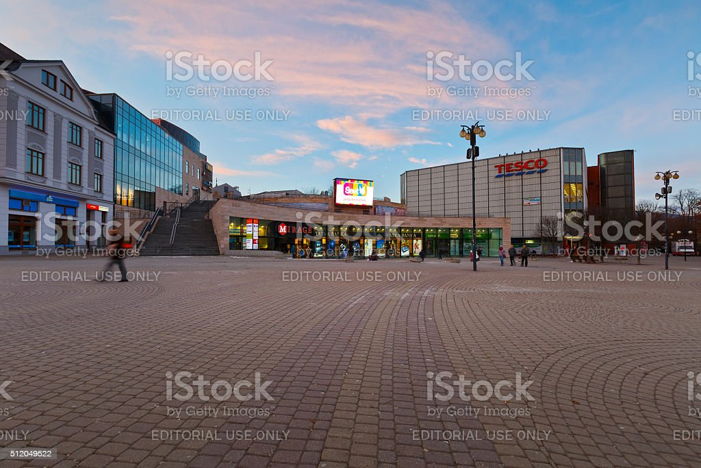 Zilina, Slovakia. stock photo