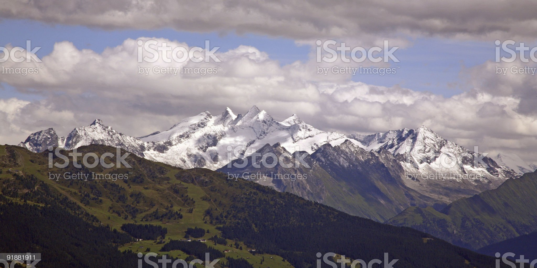 Zillertaler alps royalty-free stock photo