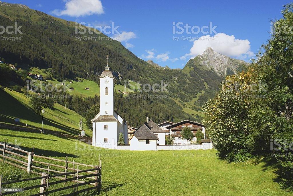 Zillertal, Austrian Alps stock photo