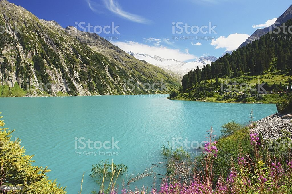 Zillertal, Austrian Alps royalty-free stock photo