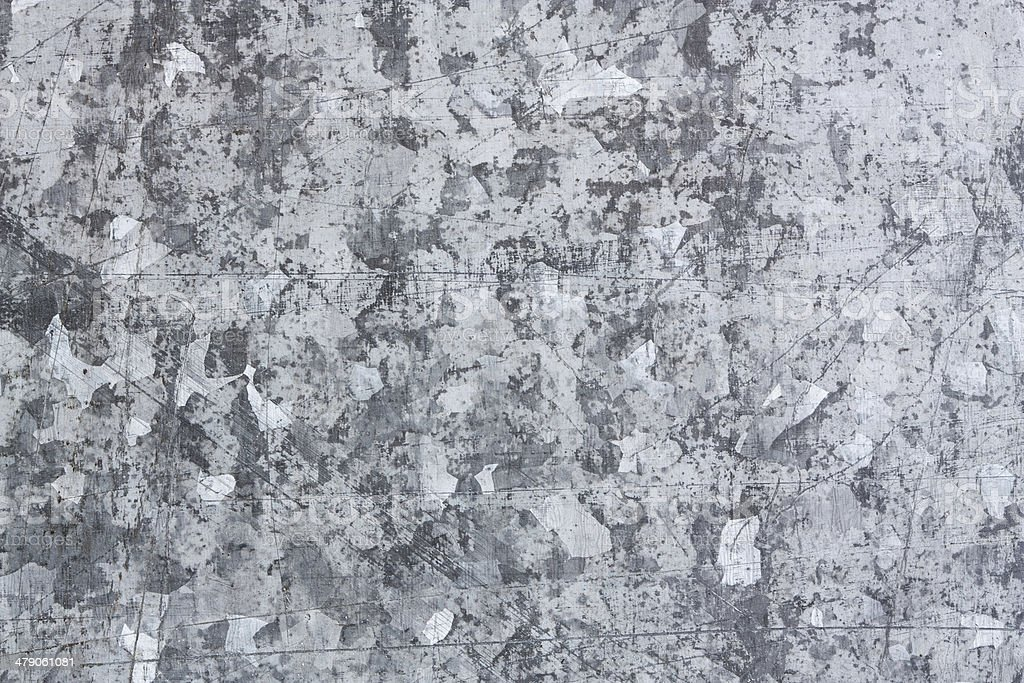 Zinc metal texture stock photo