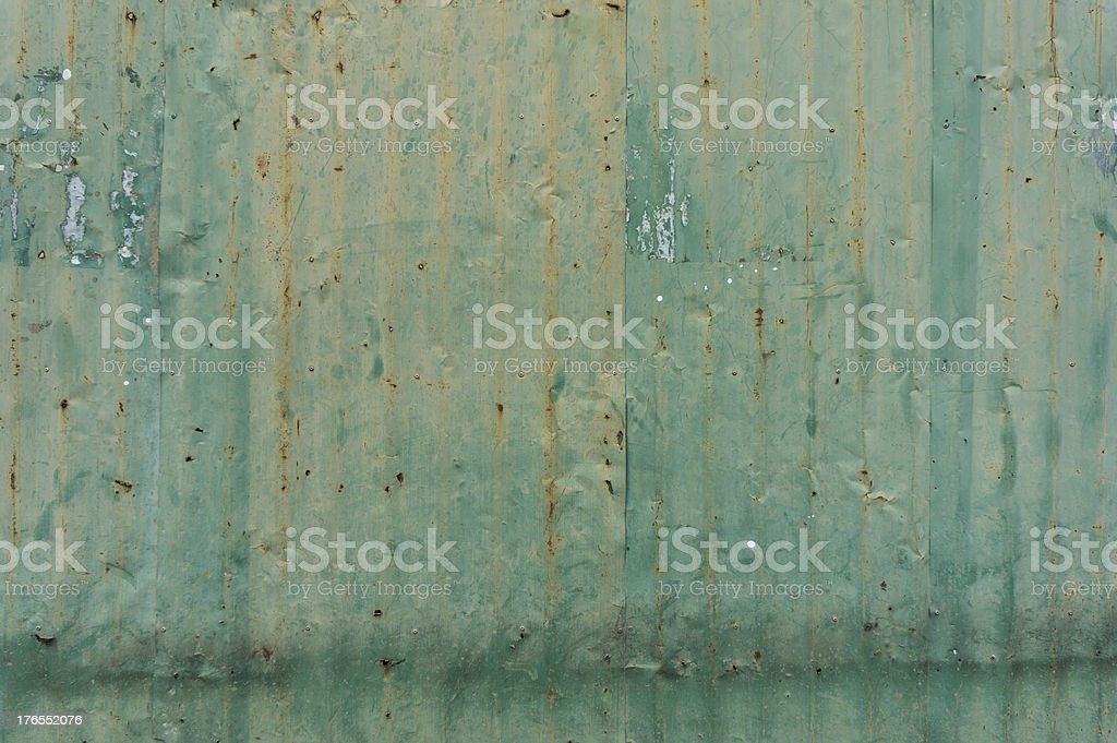 Zinc roofing. royalty-free stock photo
