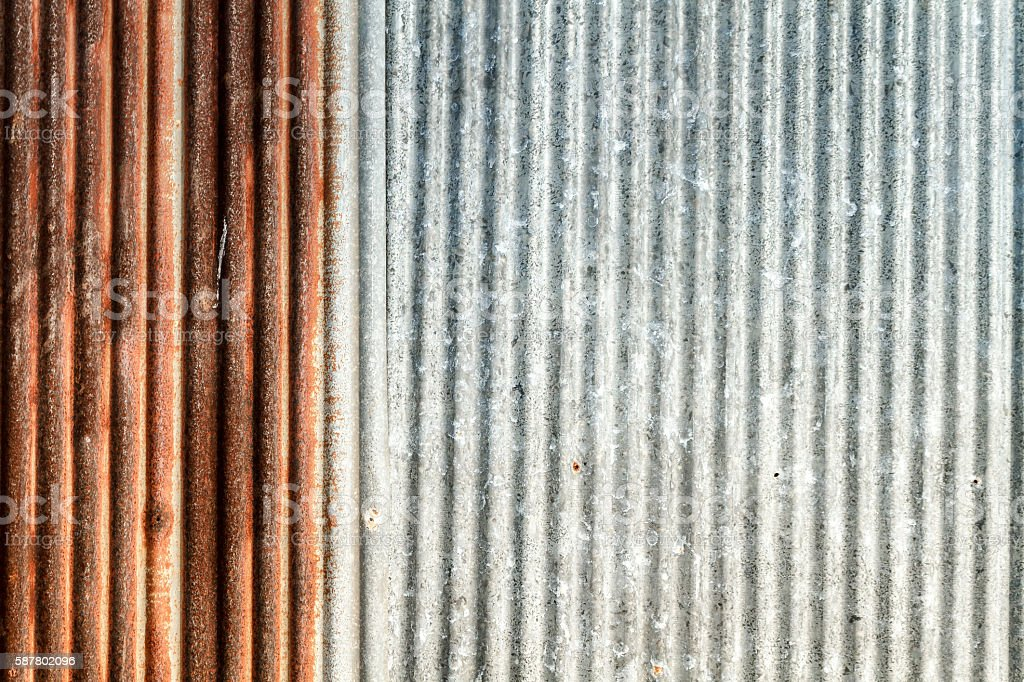 Zinc Thin Sheet stock photo