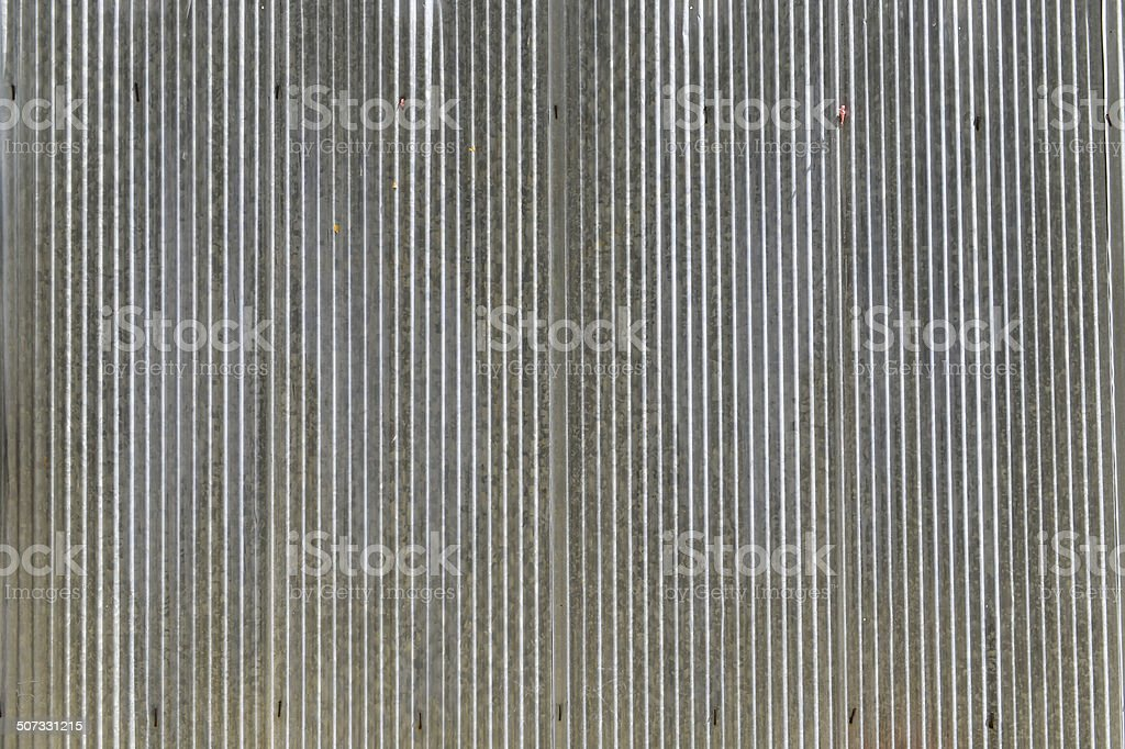 zinc tiles stock photo