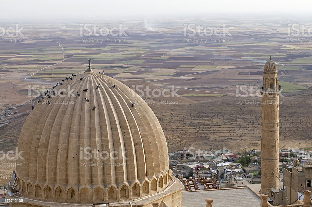 Zinciriye Madrasah, Mardin, Turkey stock photo