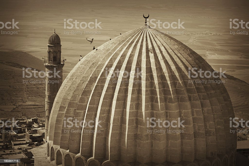 Zinciriye Madrasah stock photo