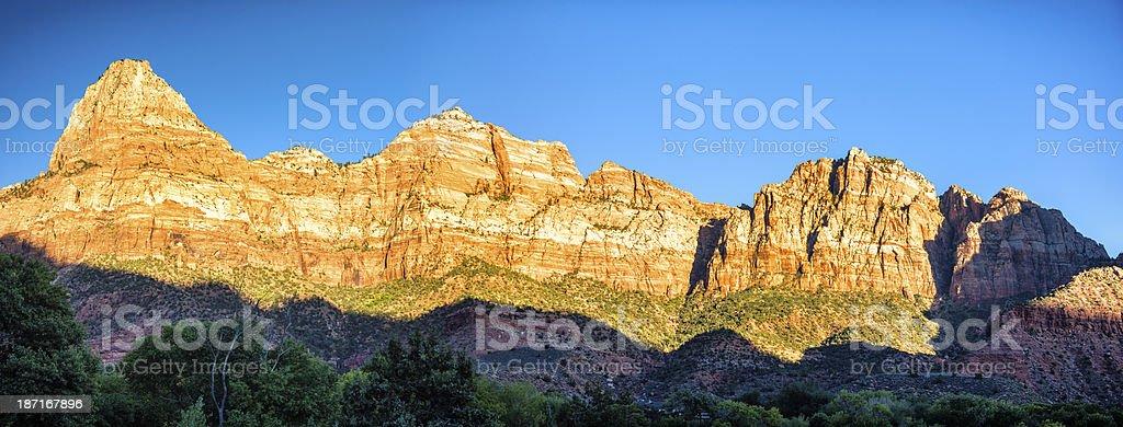 Zion Canyon royalty-free stock photo