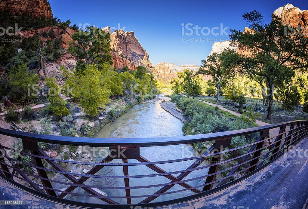 Zion Canyon royalty-free stock photo