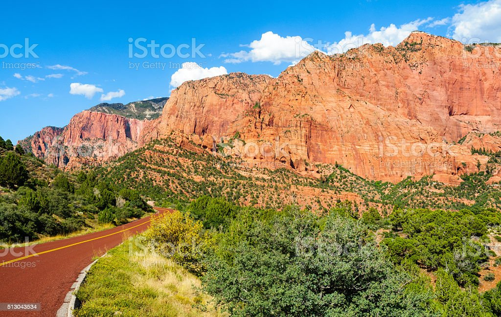 Zion National Park stock photo