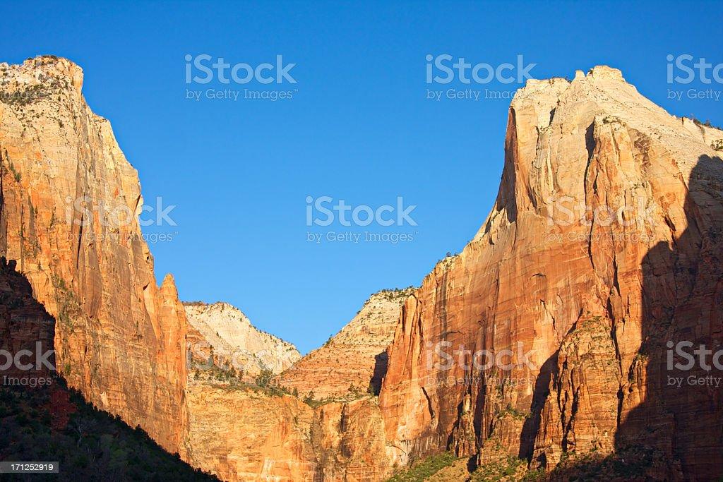 Zion National Park, Utah, USA stock photo