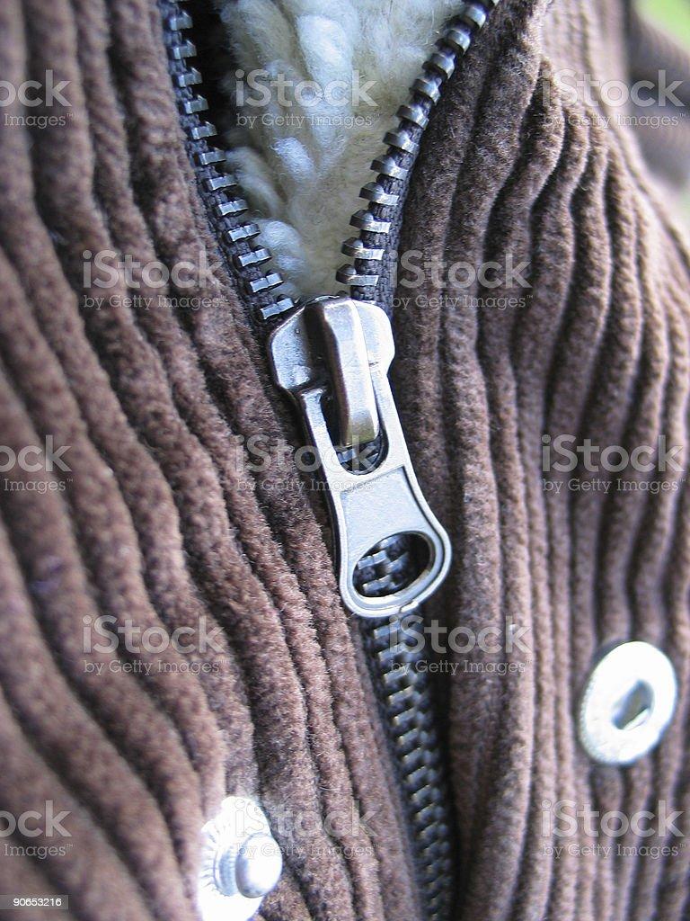 Zipper royalty-free stock photo