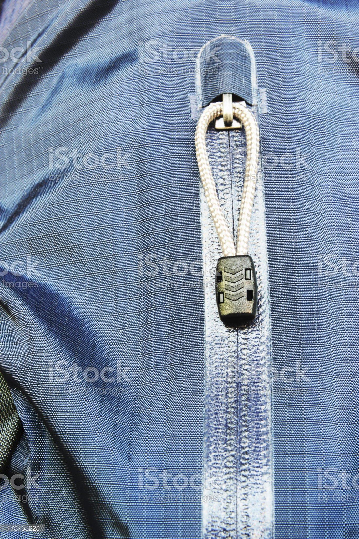 Zipper Pocket Jacket Fashion royalty-free stock photo