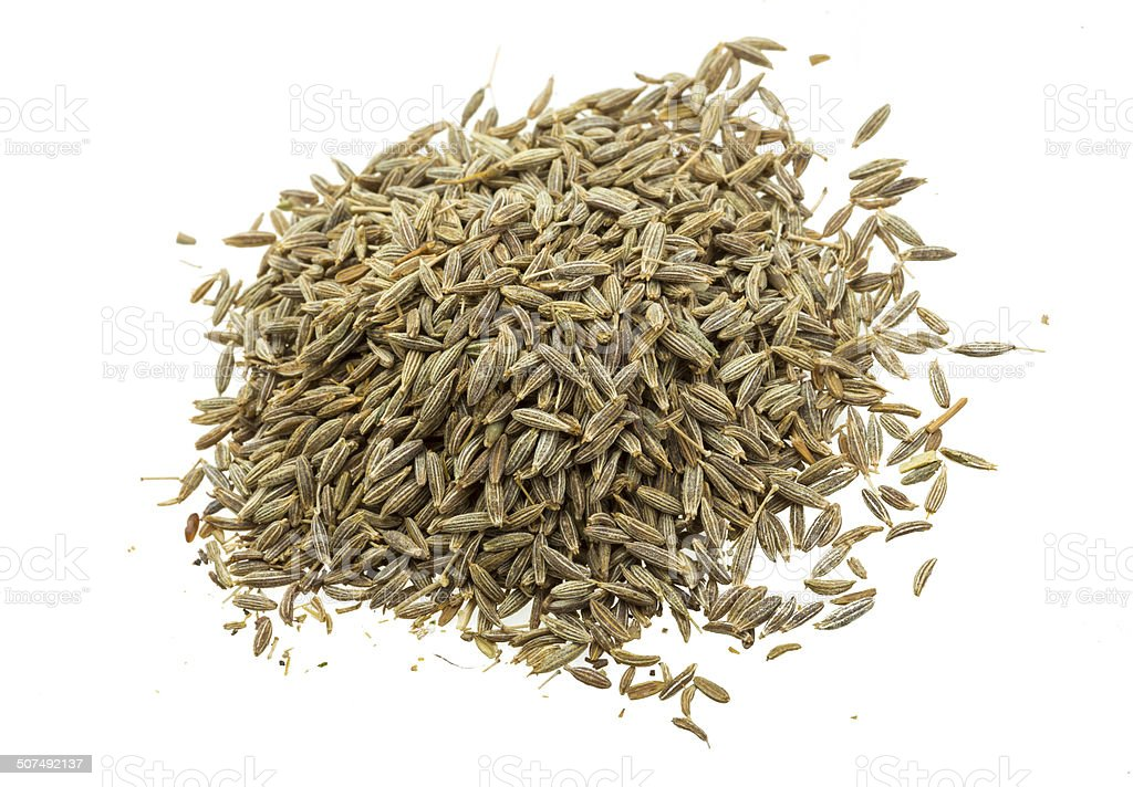 Zira seeds stock photo