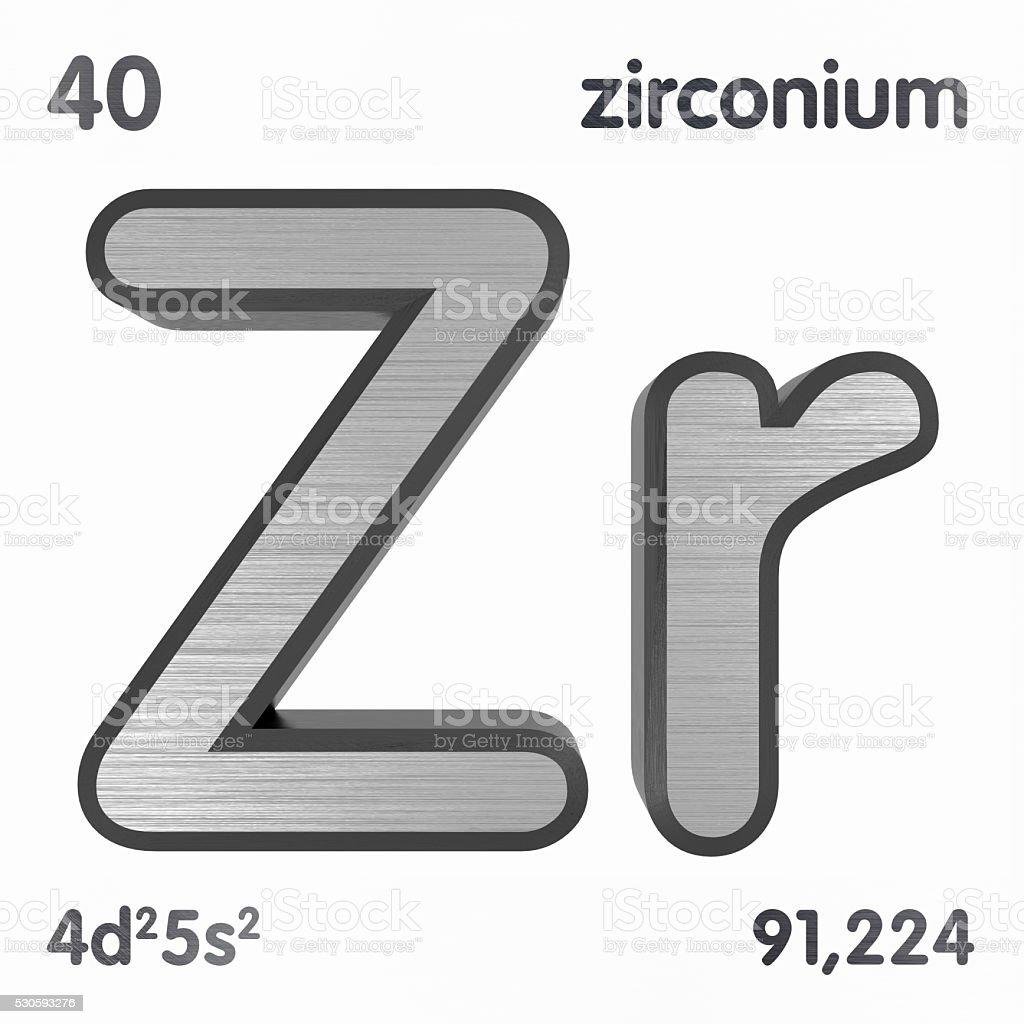 Zirconium stock photo 530593276 istock circle number periodic table poster symbol zirconium gamestrikefo Images