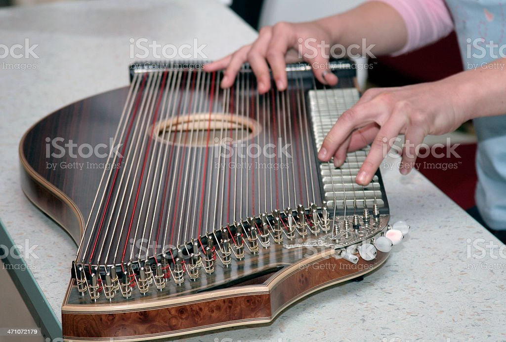 Zither royalty-free stock photo
