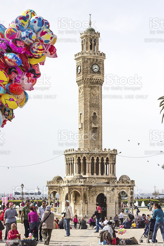 İzmir Konak Square royalty-free stock photo