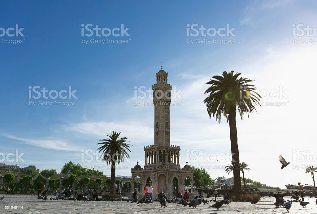 İzmir Konak Square stock photo