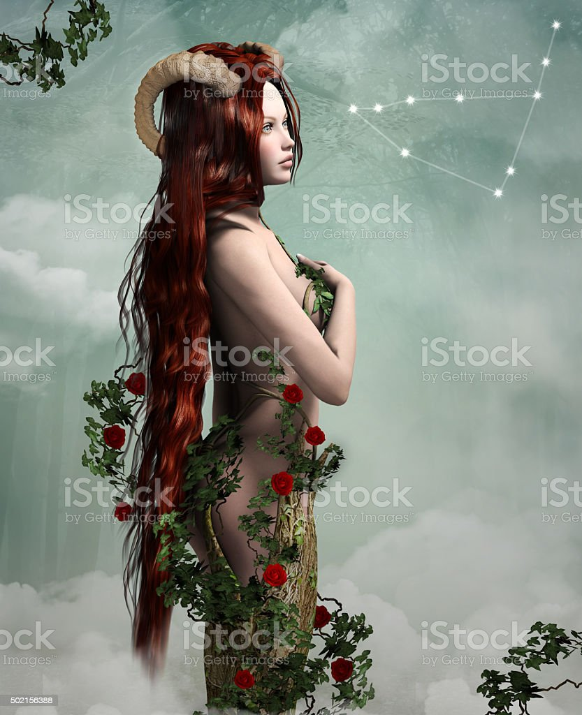 Zodiac series - Capricorn stock photo