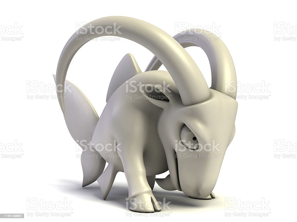 Zodiac signs - Capricorn stock photo