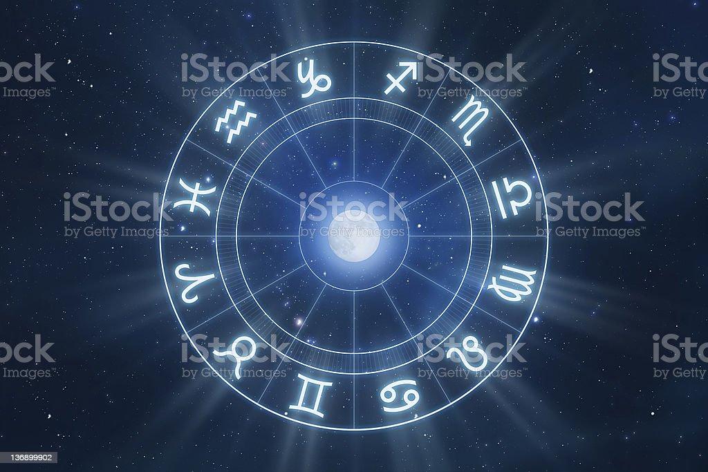 Zodiac Signs stock photo