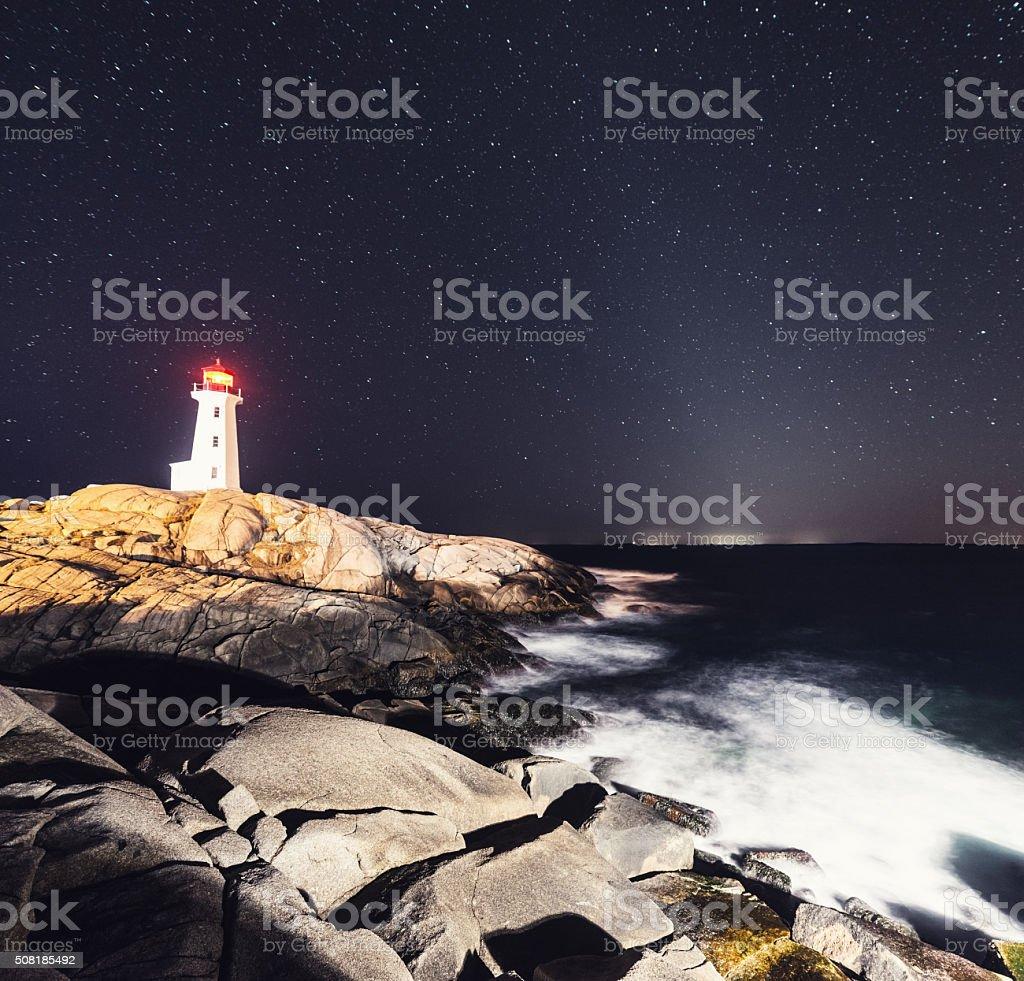 Zodiacal Lighthouse stock photo