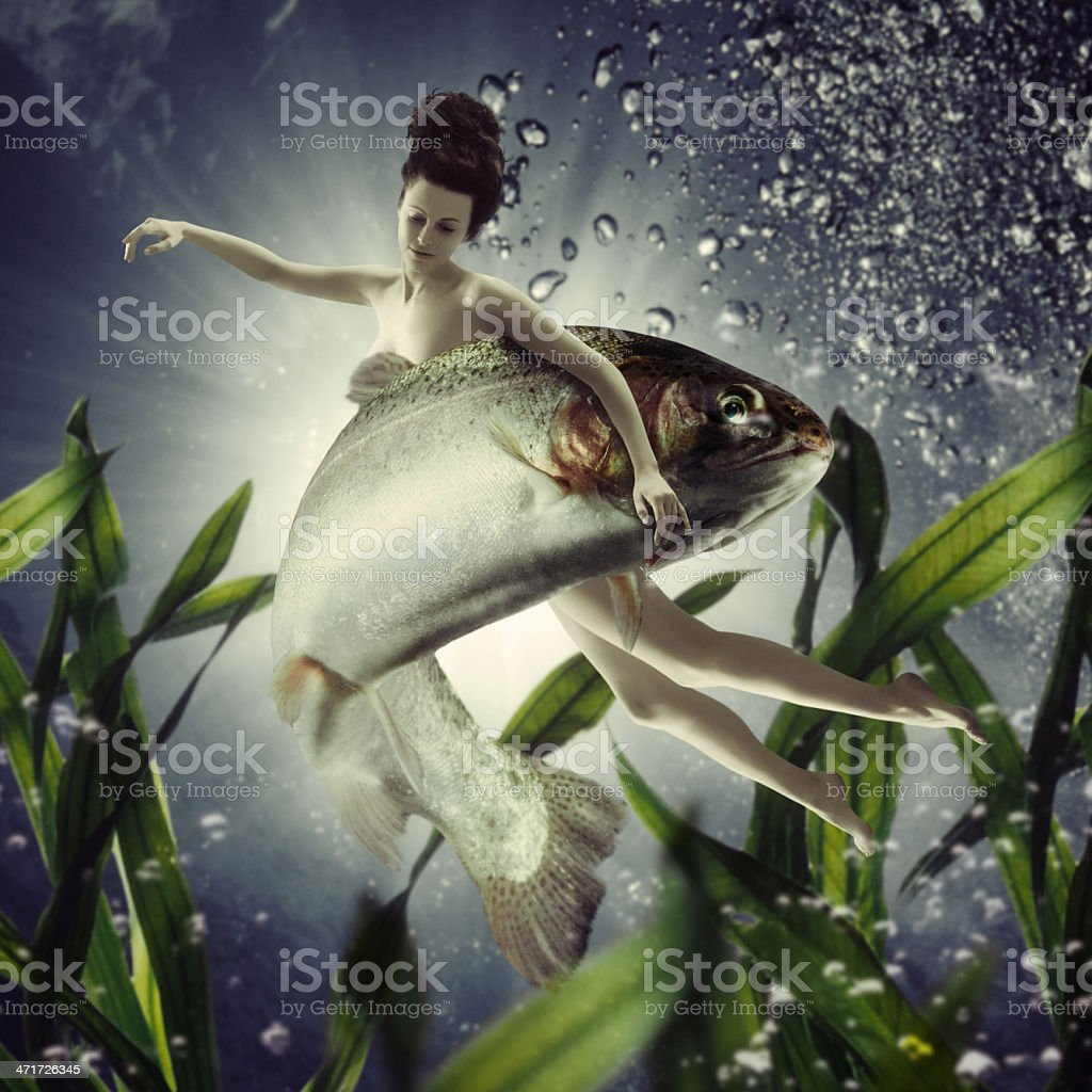 ZODIAC:Pisces stock photo