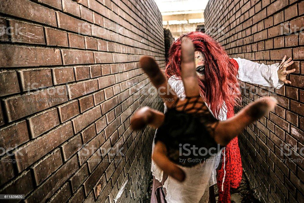 Zombie Apocalypse stock photo
