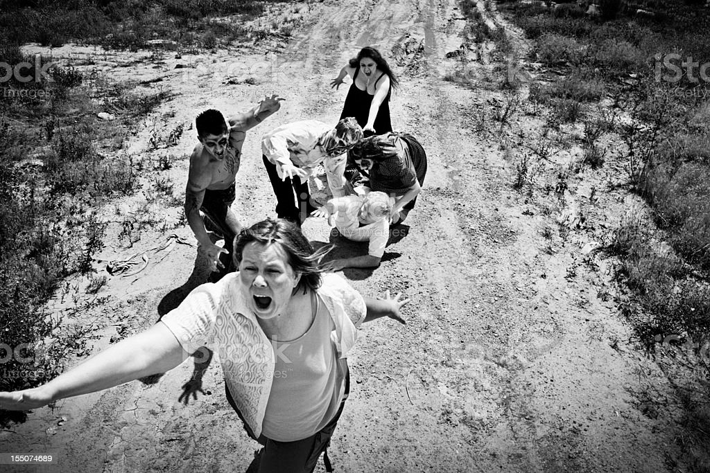 Zombie Attack stock photo