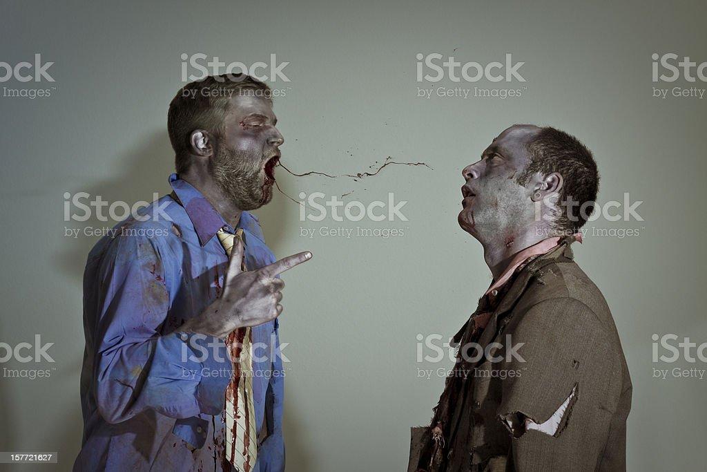 zombie boss royalty-free stock photo