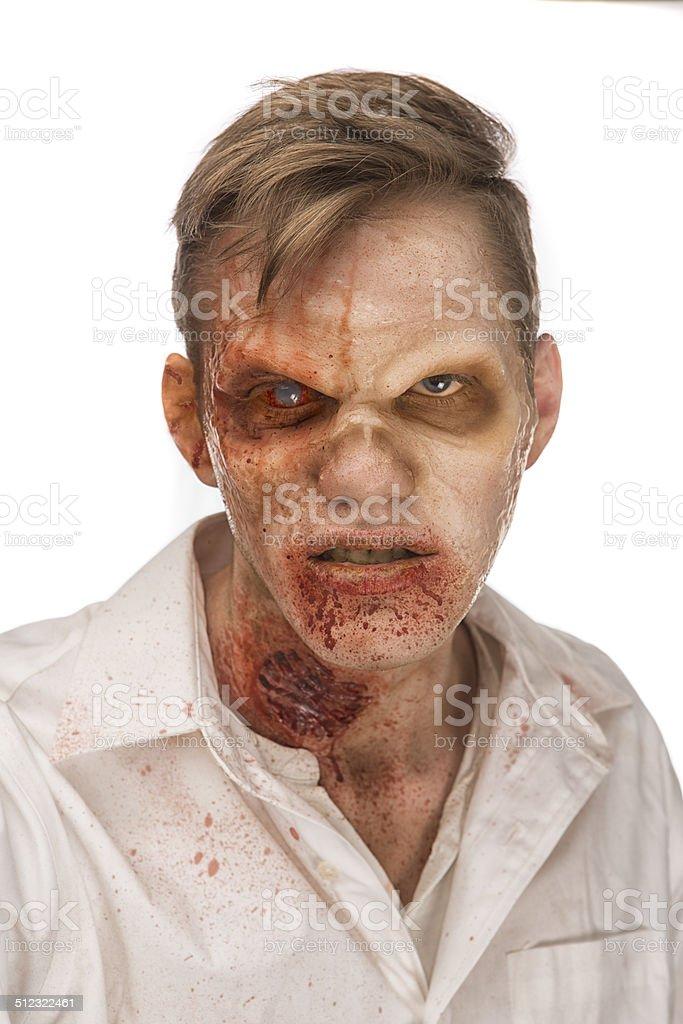 Zombie Headshot stock photo