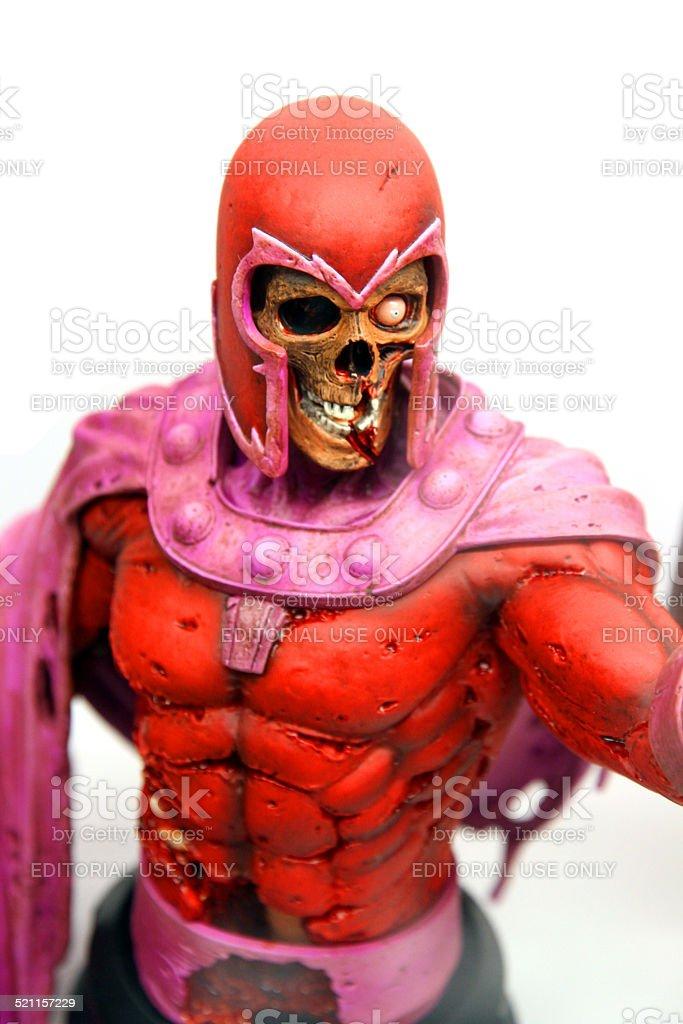 Zombie Magneto stock photo