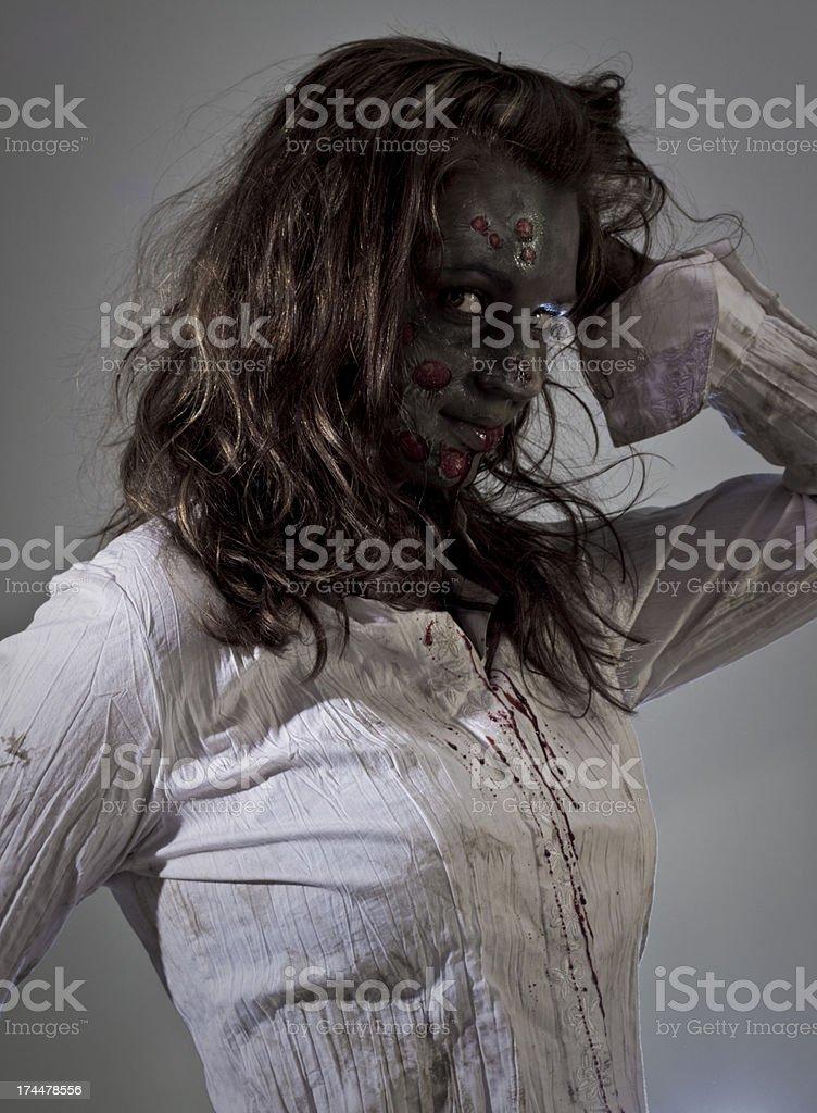 zombie model royalty-free stock photo