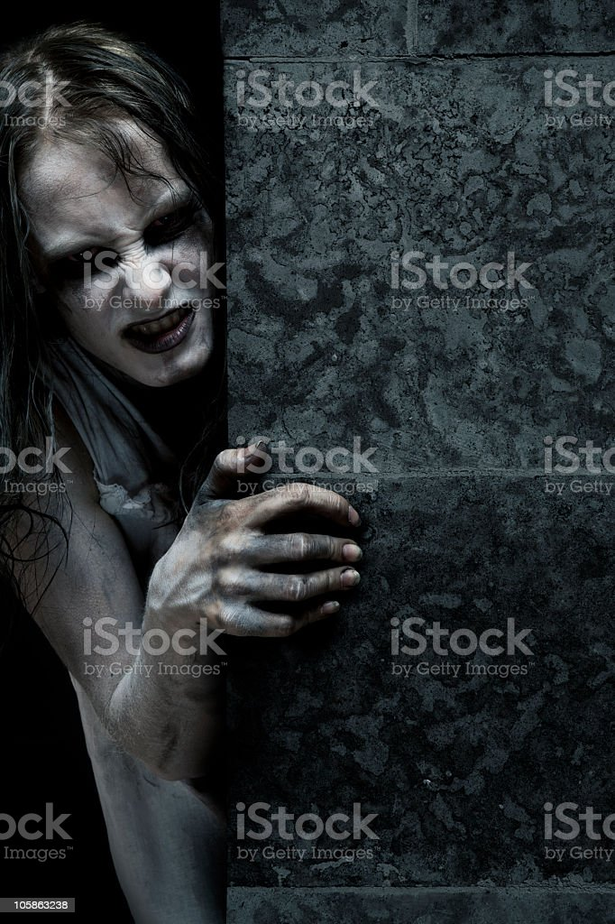Zombie royalty-free stock photo