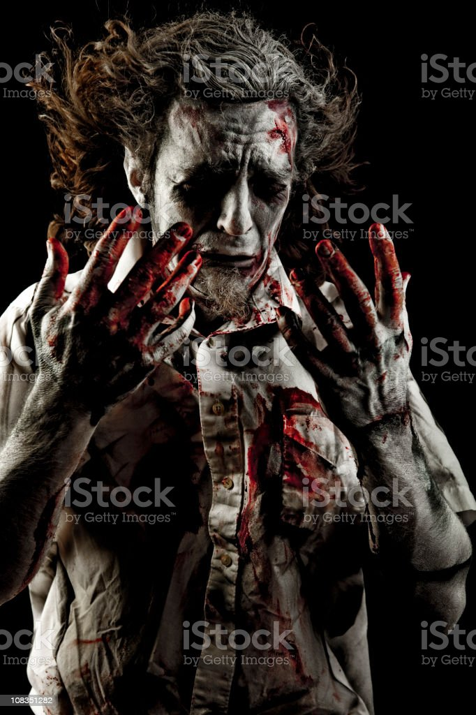 Zombie royalty-free stock photo