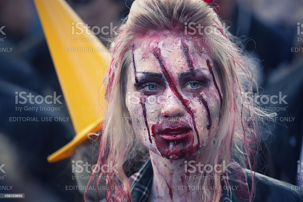 Zombie Walk 2013 royalty-free stock photo