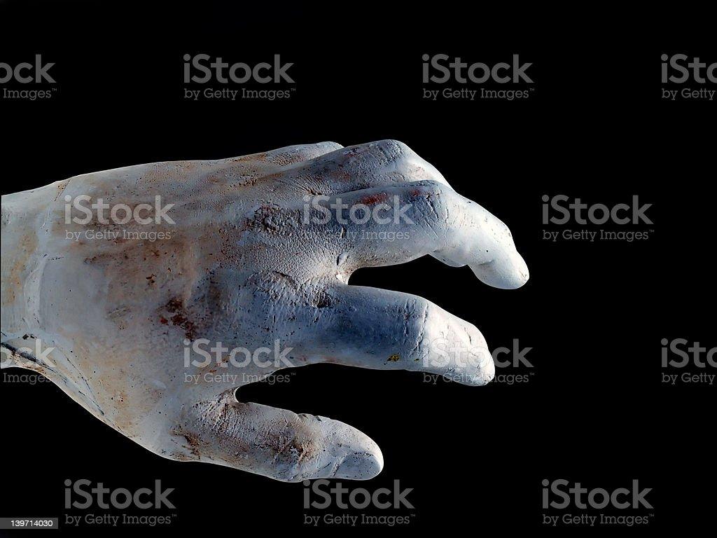 Zombies Hand stock photo