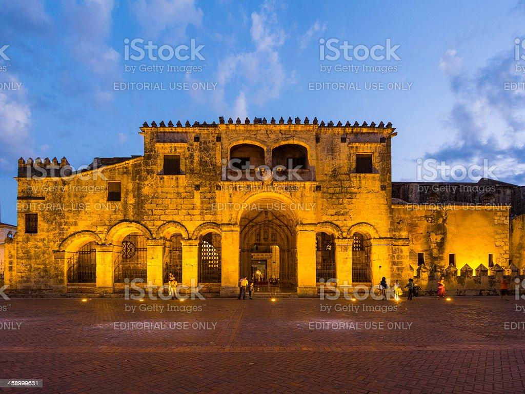 Zona Colonial, Santo Domingo, Dominican Republic royalty-free stock photo