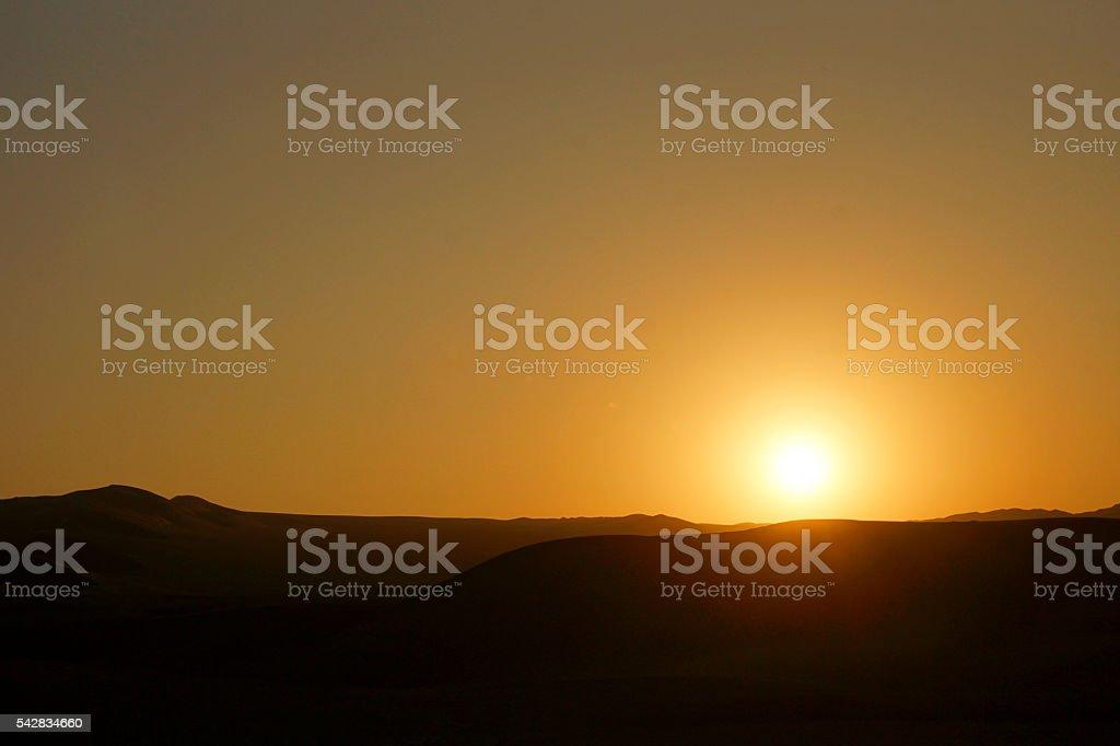 Zona Reservada Laguna de Huacachina stock photo