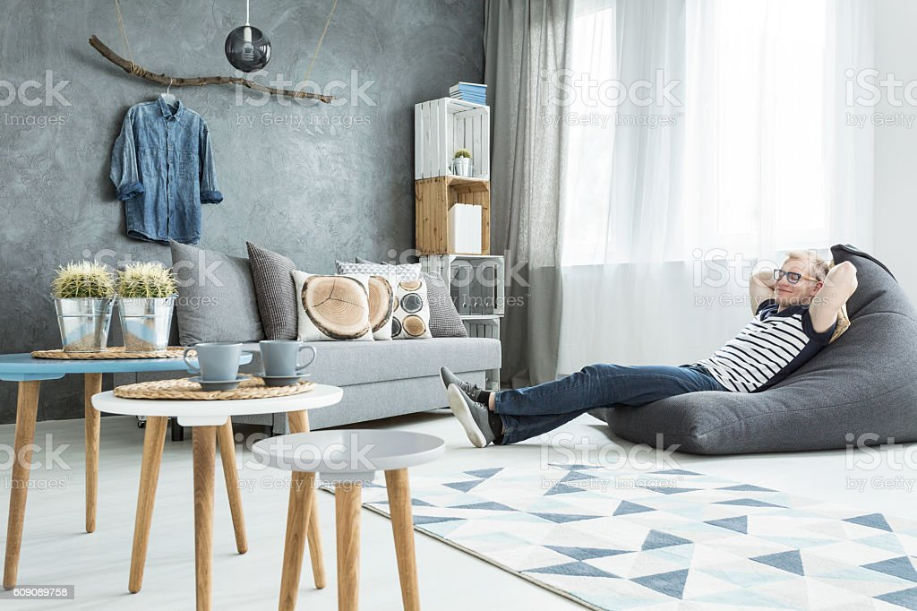 Zone of daily relax stock photo