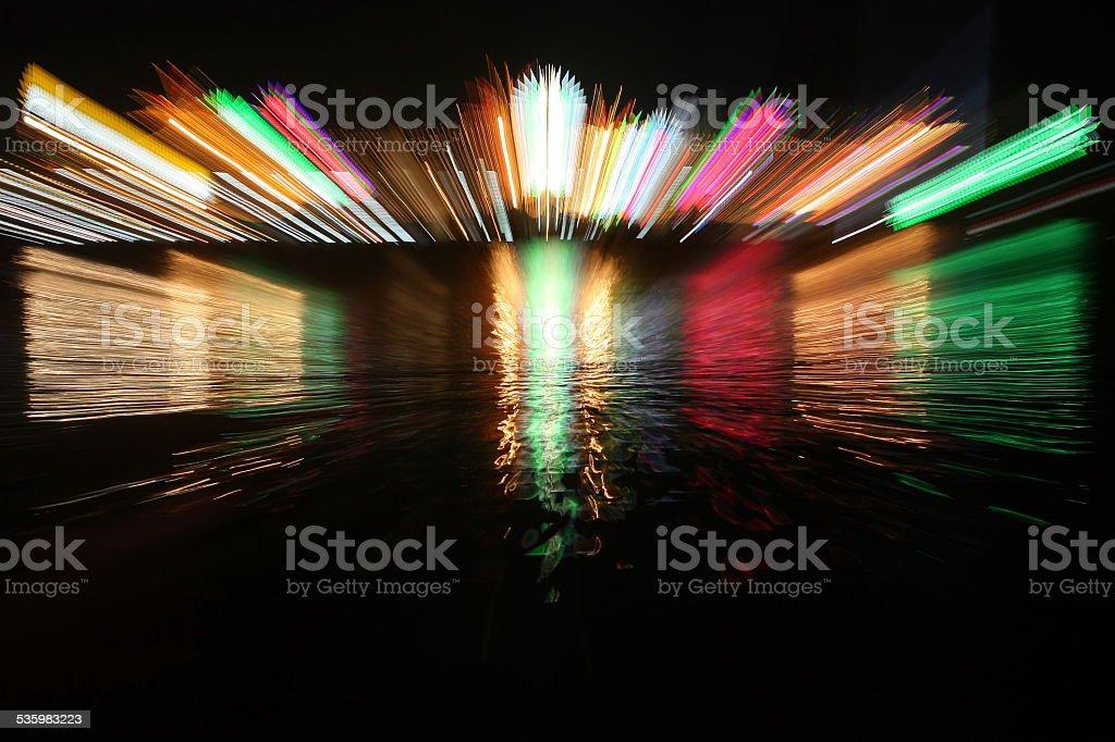 zoom acceleration motion stock photo