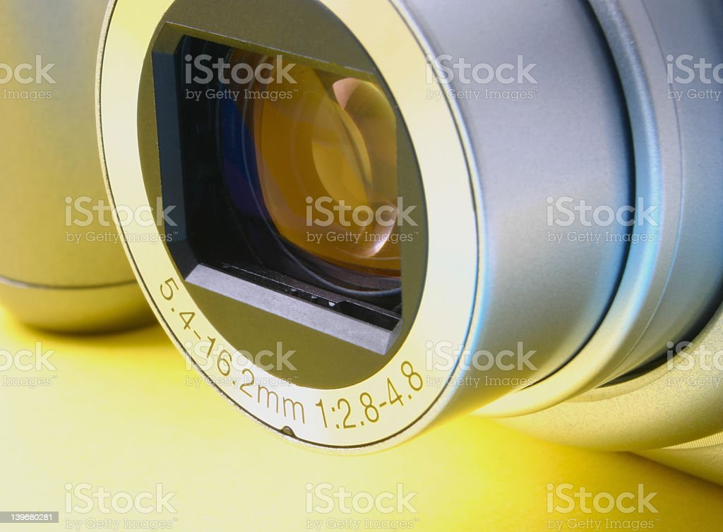 zoom lens details royalty-free stock photo