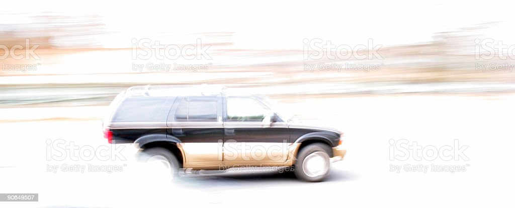 Zooming Bye royalty-free stock photo
