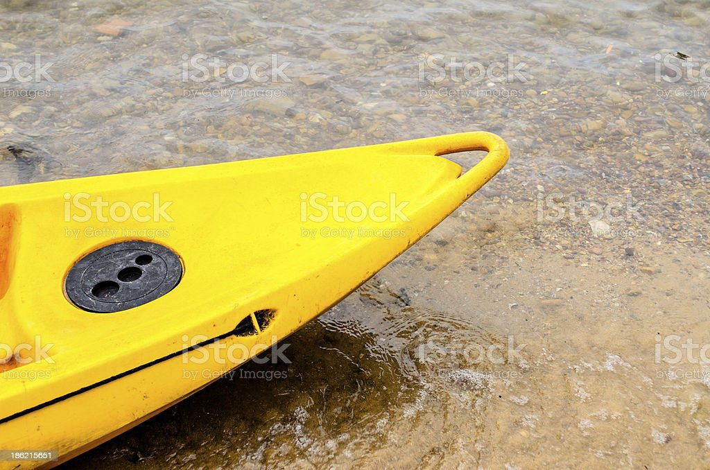 Zoon of Canoe stock photo